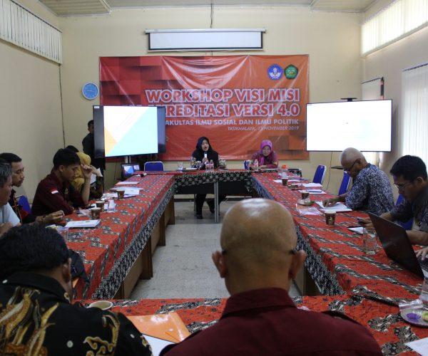 Workshop Visi Misi: Persiapan Menghadapi re-Akreditasi
