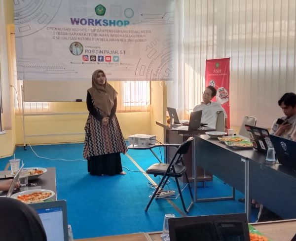 WORKSHOP OPTIMALISASI WEBSITE DAN MEDSOS: GAGASAN PEMBAHARUAN INFORMASI AKADEMIK